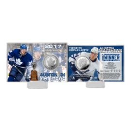 Toronto Maple Leafs Auston Matthews Calder Coin Card