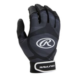Rawlings Prodigy Batting Glove - Black/Grey