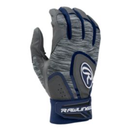 Rawlings 5150 Adult Baseball Batting Gloves - Navy