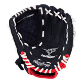 "Rawlings Savage Youth 10.5"" T-Ball Glove - Black/Red"