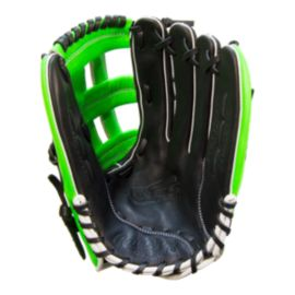 "Rawlings Gamer 13"" Left Hand Catch Slowpitch Glove - Black/Green"
