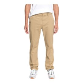 DC Men's Worker Straight Chino Pant - Khaki