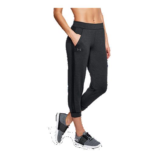 b56029cce0 Under Armour Women's Featherweight Fleece Crop Pants | Sport Chek