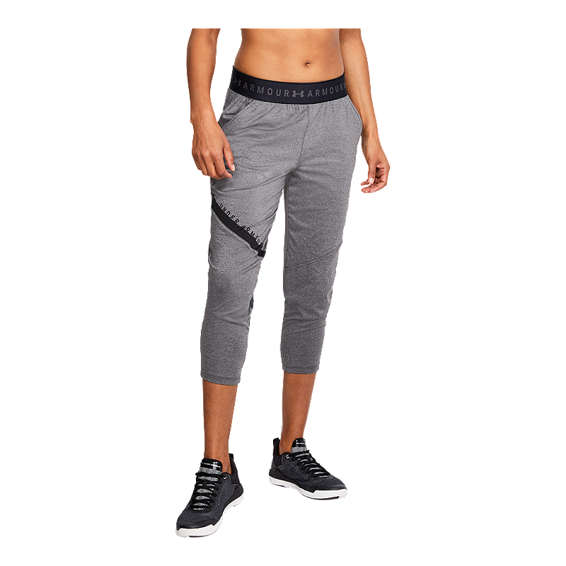 63ddd712bf05b Under Armour Women's Armour Sport Graphic Crop Pants | Sport Chek