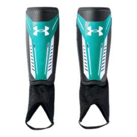 Under Armour Challenge 2.0 Shin Guards - Teal/White/Black