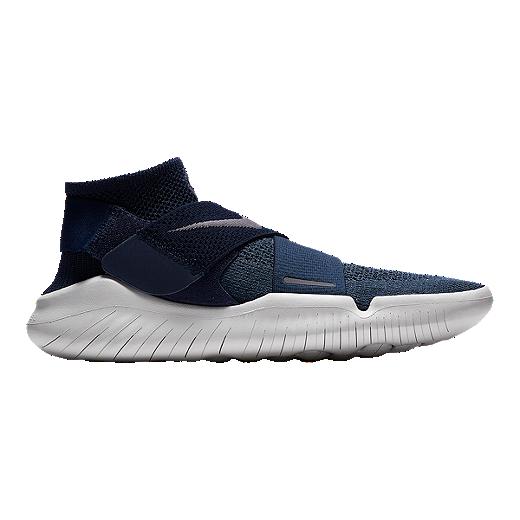 programa Reconocimiento parilla  Nike Men's Free RN Motion Flyknit 2017 Running Shoes - Blue/Grey/Navy |  Sport Chek