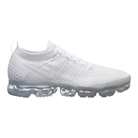 588e64feecb Nike Men s VaporMax Flyknit 2 Running Shoes - White Platinum