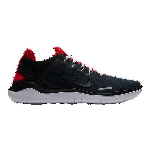 335bc84709301 Nike Men s Free RN 2018 Running Shoes - Black Red