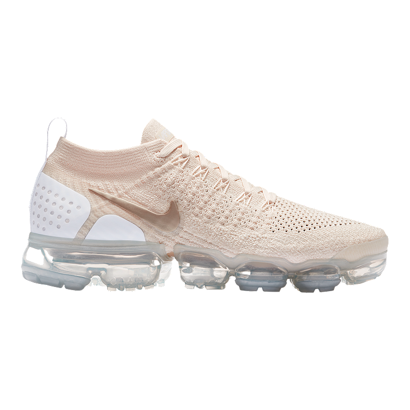more photos 90e7f 5afd6 Nike Women s Air VaporMax Flyknit 2 Running Shoes - Cream Gold White    Sport Chek