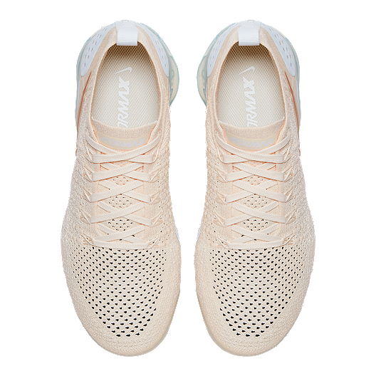 63a5377fd8d73 Nike Women s Air VaporMax Flyknit 2 Running Shoes - Cream Gold White. (0).  View Description