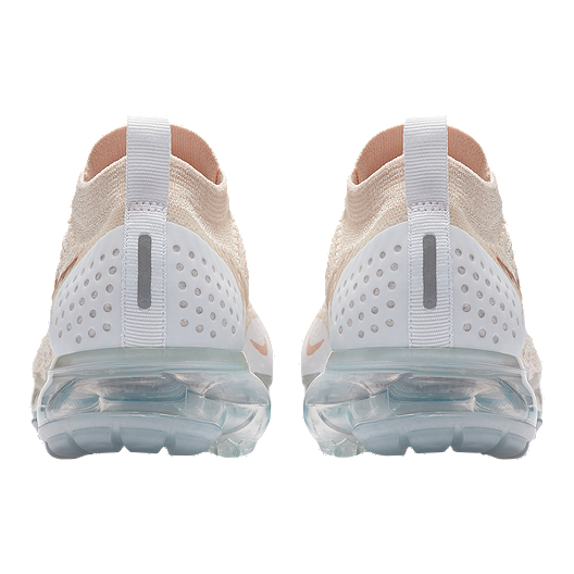 new products 5ad01 c20ae Nike Women's Air VaporMax Flyknit 2 Running Shoes - Cream ...