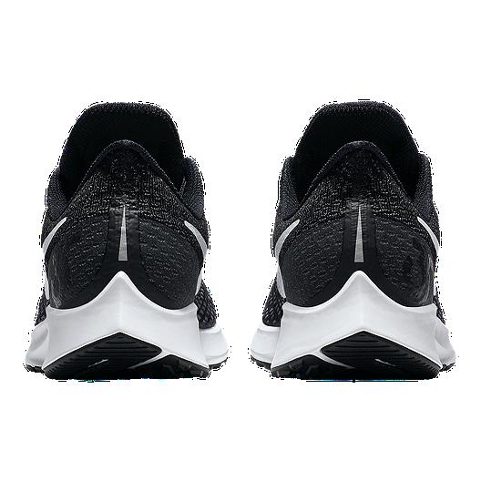 the best attitude 2e033 4d830 Nike Women's Zoom Pegasus 35 Running Shoes - Black/White/Grey