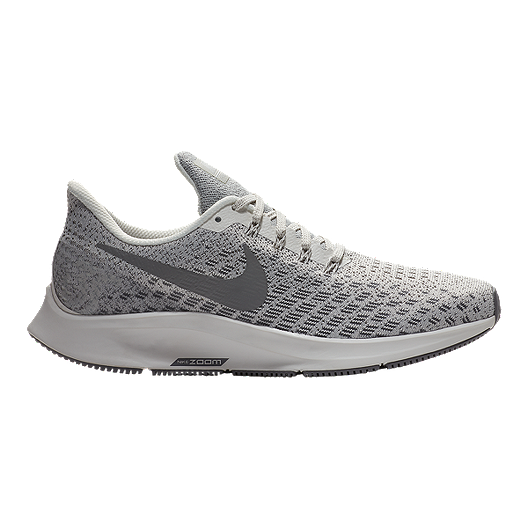 83a02c05184a Nike Women s Zoom Pegasus 35 Running Shoes - Grey White