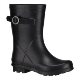 Ripzone Girls' London Classic Buckle Rain Boots - Black