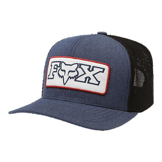 93591d3b Fox Honorarium 110 Snapback Trucker Hat - Heathered Midnight
