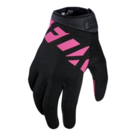 Fox Ripley Women's Mountain Bike Gloves - Black/Pink