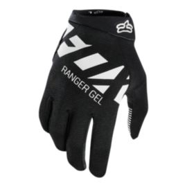 Fox Ranger Gel Mountain Bike Gloves - Black/White