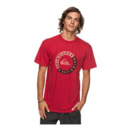 Quiksilver Men's Shores Away T Shirt - Chili Pepper