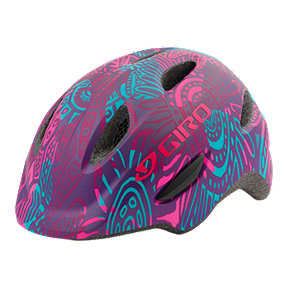 Giro Scamp Kids' Bike Helmet - Matte Purple Blossom