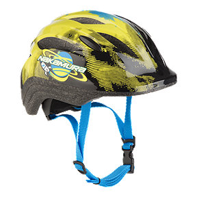 Nakamura Breezer Child Bike Helmet 2018 - Black/Yellow