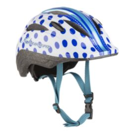 Nakamura Breezer Child Bike Helmet 2018 - White/Blue