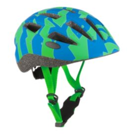 Diadora Ride Junior Bike Helmet 2018 - Green/Blue