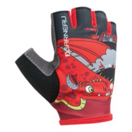 Louis Garneau Kid Ride Biking Gloves - Red