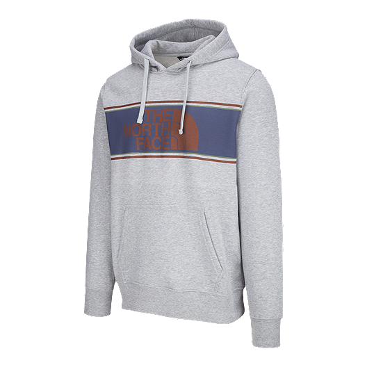 cc5c956d1 The North Face Men's Edge To Edge Pullover Hoodie - Light Grey ...