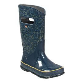 Bogs Kids' Constellations Rain Boots - Navy/Yellow
