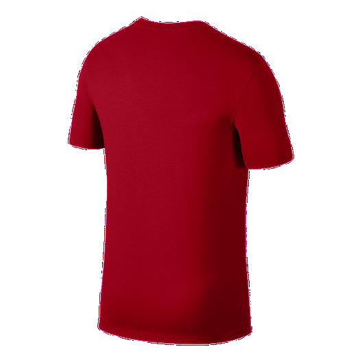 63e0ae2538b73 Nike Men's Jordan Jumpman Wordmark Basketball T Shirt | Sport Chek