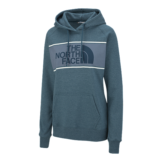 e3f38c1fb The North Face Women's Edge To Edge Pullover Hoodie - Blue Coral ...