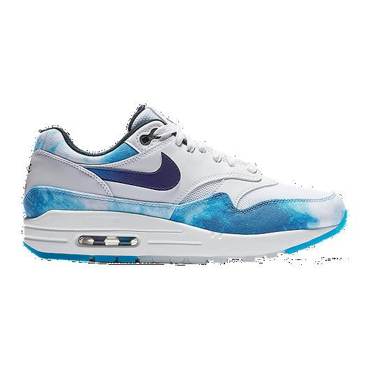 e4dce6c9ebcf Nike Women s N7 Air Max 1 Shoes - Blue White