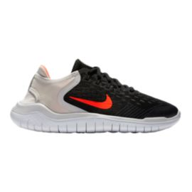 Nike Kids' Free RN 2018 Grade School Shoes - Black/Crimson/Grey