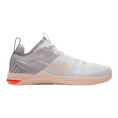 Nike Women\u0027s Metcon DSX Flyknit 2 Training Shoes - White/Grey/Pink