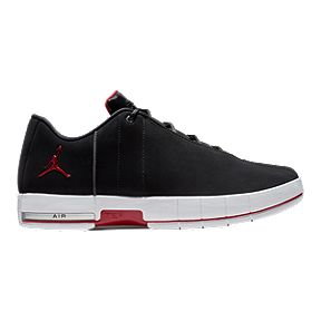 Nike Men s Jordan Team Elite 2 Low Basketball Shoes - Black Red White 777a1de783