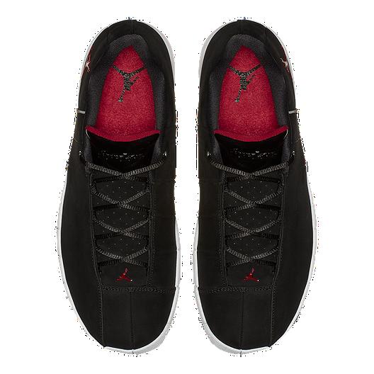 45769059c81a4d Nike Men s Jordan Team Elite 2 Low Basketball Shoes - Black Red ...