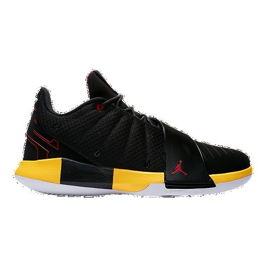 newest collection 9920f 371f1 Nike Men s Jordan CP3.IX Basketball Shoes - Black Red Yellow   Sport Chek