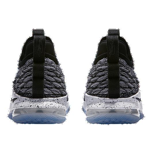 super popular c6c16 3b6a4 Nike Men's LeBron 15 Low Basketball Shoes - Grey/Black/White ...