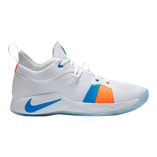 release date: c6728 7c0ac Nike Men s PG 2 Basketball Shoes - White Ice   Sport Chek
