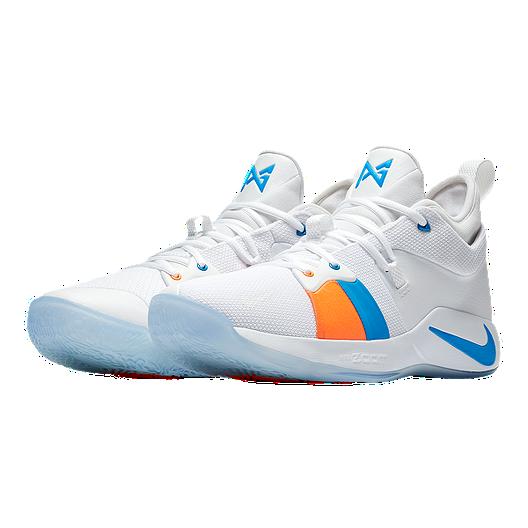 a4d1cbde23a Nike Men s PG 2 Basketball Shoes - White Ice