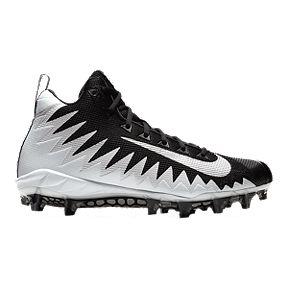 78d02b84a Nike Men s Alpha Menace Pro Mid Football Cleats - White Silver