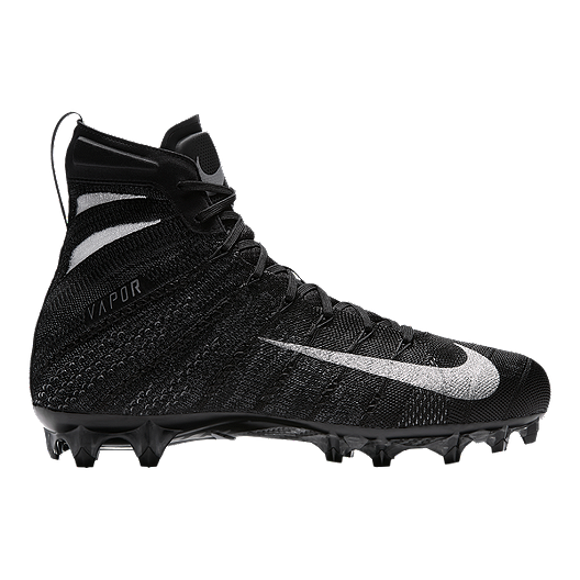 2f3ddd77b301 Nike Men s Vapor Untouchable 3 Elite Football Cleats - Black Silver White