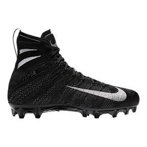c0aa2b586fa77 Nike Men s Vapor Untouchable 3 Elite Football Cleats - Black Silver White