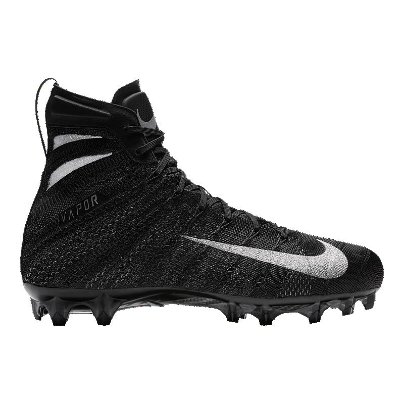 brand new 92aab 97eaa Nike Mens Vapor Untouchable 3 Elite Football Cleats - BlackSilverWhite   Sport Chek