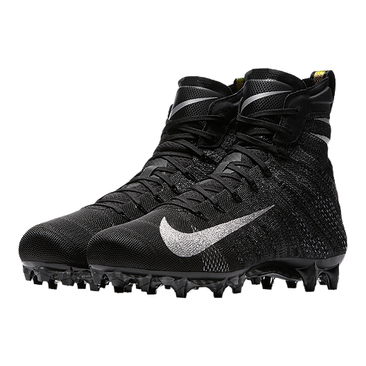 detailed look c076a 94cc3 Nike Men s Vapor Untouchable 3 Elite Football Cleats - Black Silver White.  (0). View Description