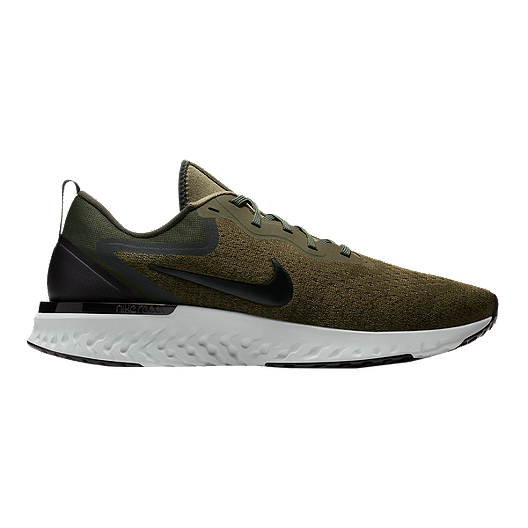 9a94e2919d9f Nike Men s Odyssey React Running Shoes - Olive Black Green
