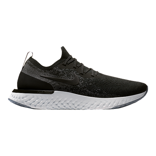 a50d2db5fadc Nike Men s Epic React Flyknit Running Shoes - Black Grey