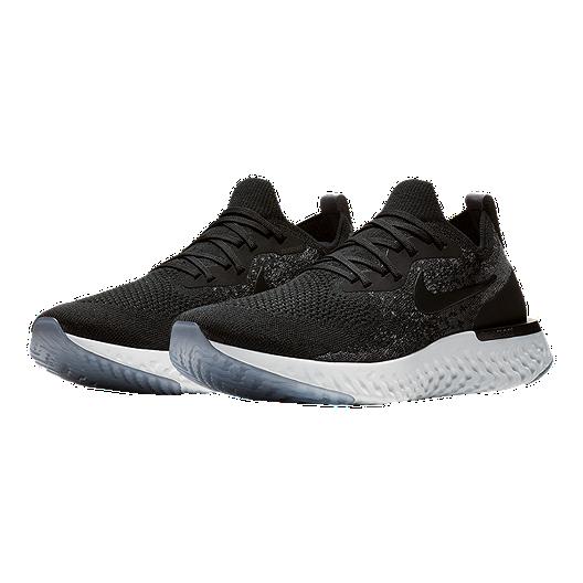 the best attitude 2bb1c 6fd4d Nike Men's Epic React Flyknit Running Shoes - Black/Grey | Sport Chek