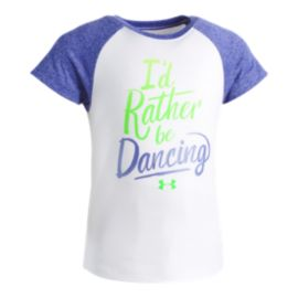 Under Armour Toddler Girls' I'd Rather Be Dancing T Shirt