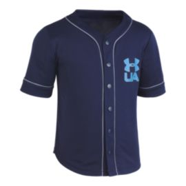 Under Armour Toddler Boys' Homerun Baseball Jersey Top